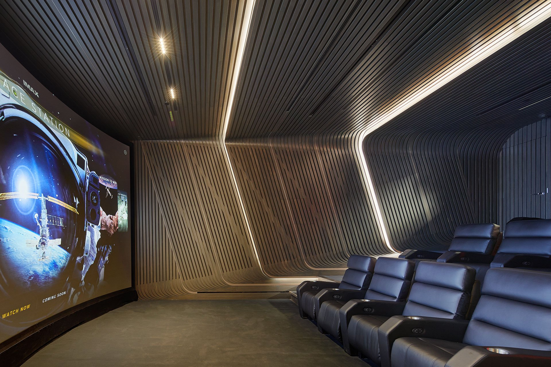520 West 28th Street theatre OVI architectural lighting design