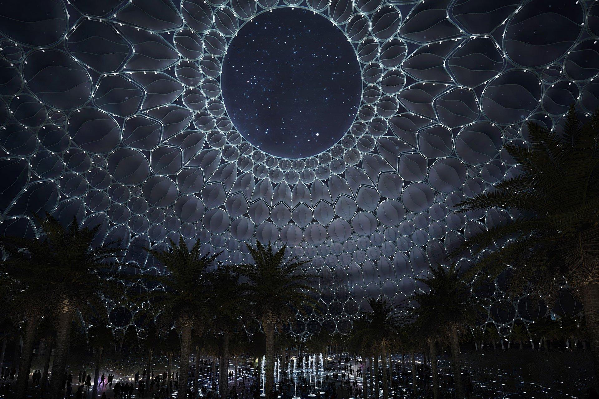 WORLD EXPO DUBAI – AL WASL PLAZA OVI architectural lighting design