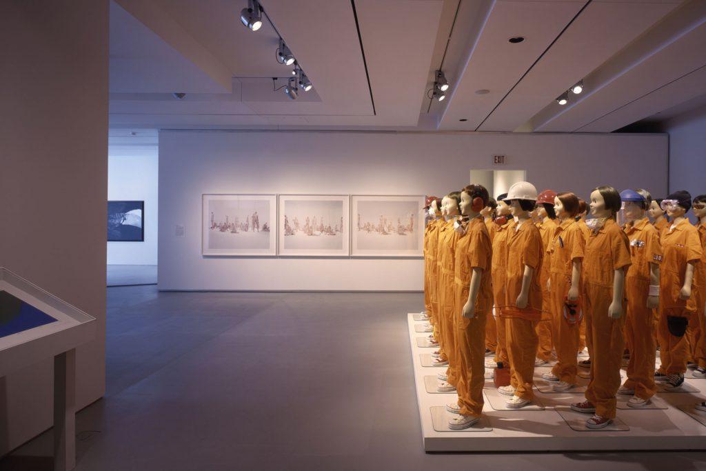 Rosenthal Center for Contemporary Art interior exhibit space.