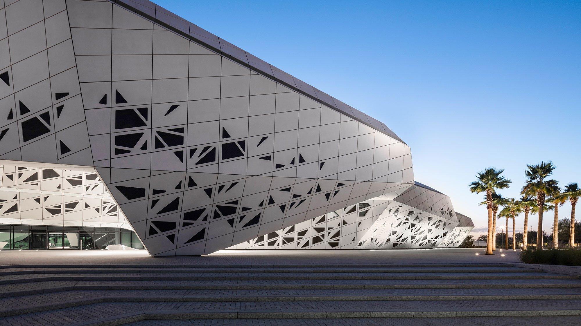 KAPSARC Saudi Arabia exterior architectural lighting design OVI Chinese