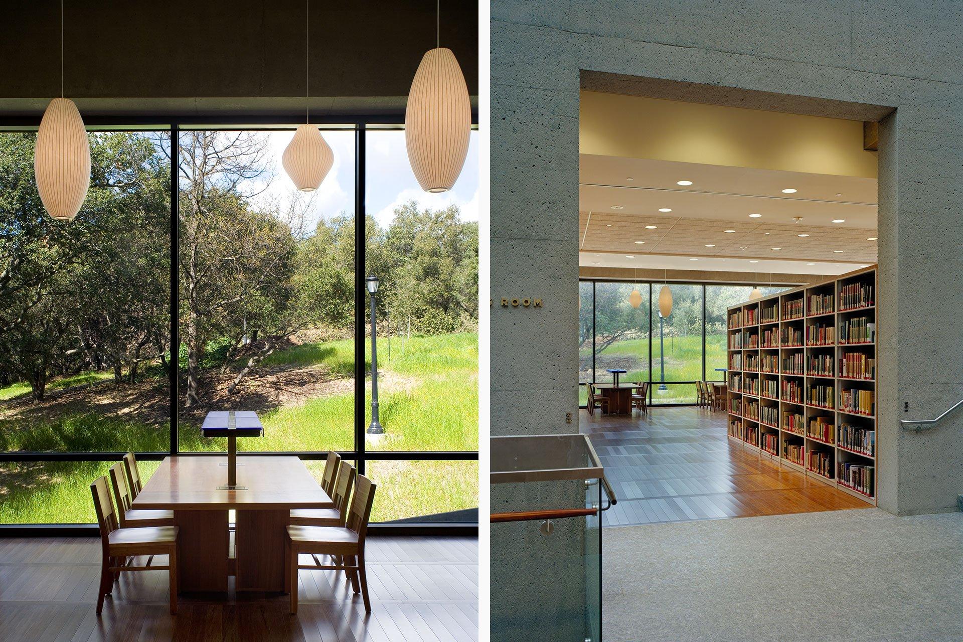 C.V. Starr East Asian Library interior OVI architectural lighting design