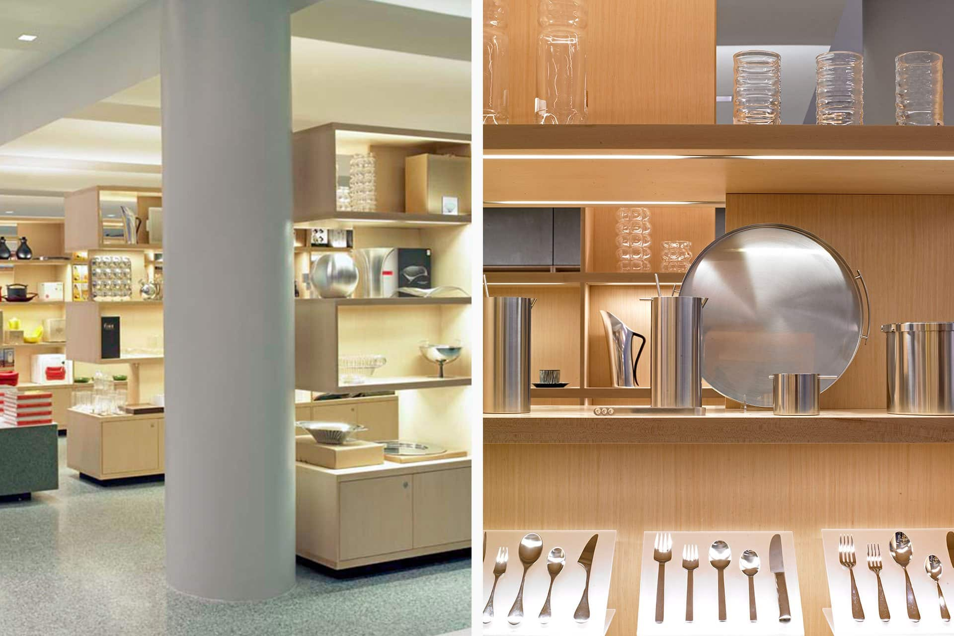 Museum of Modern Art (Moma) design store architectural design lighting Office For Visual Interaction