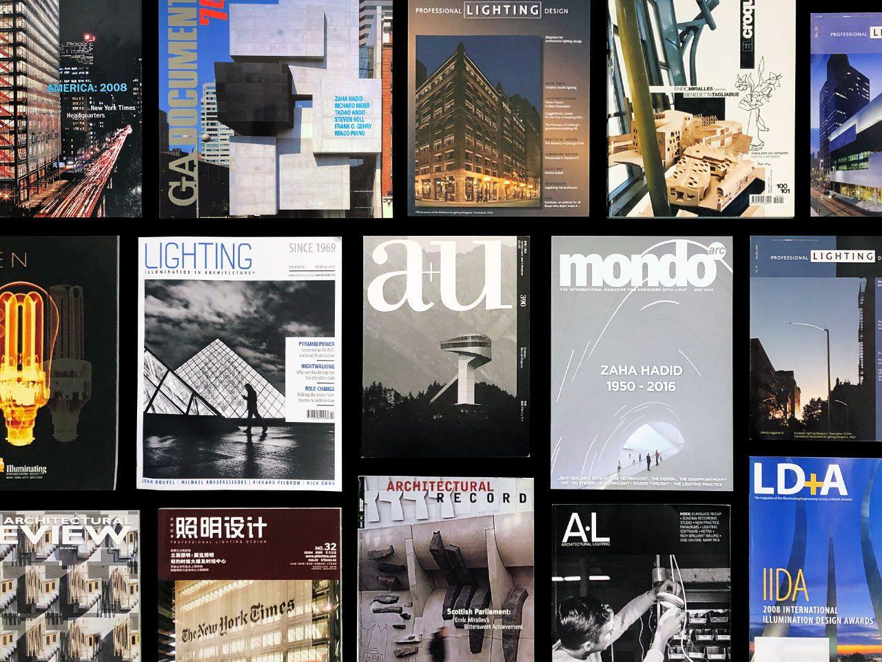 Magazin cover featuring OVI