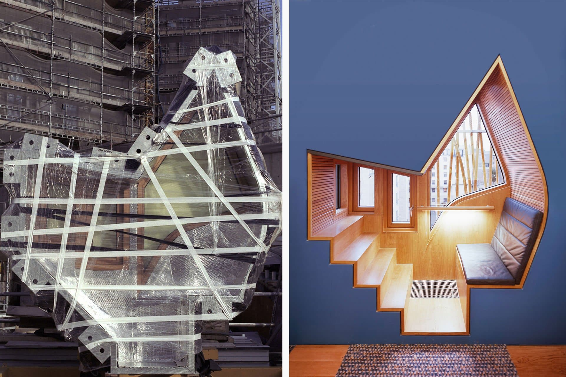 Scottish Parliament chair before after architectural design lighting Office For Visual Interaction