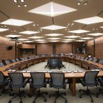 Canadian Parliament West Block conference room architectural design lighting Office For Visual Interaction